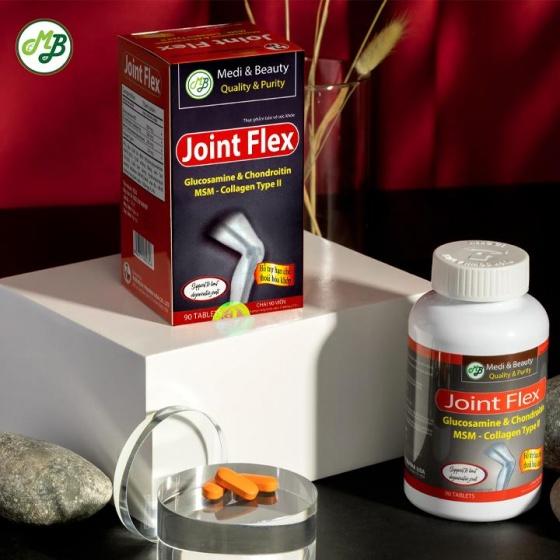 Viên uống bổ khớp , giảm đau nhức khớp - Joint Flex chai 90 viên - Medi Beauty
