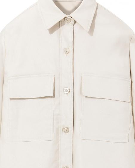 Áo khoác nữ The Cosmo KENZIE JACKET màu be TC2004043BE