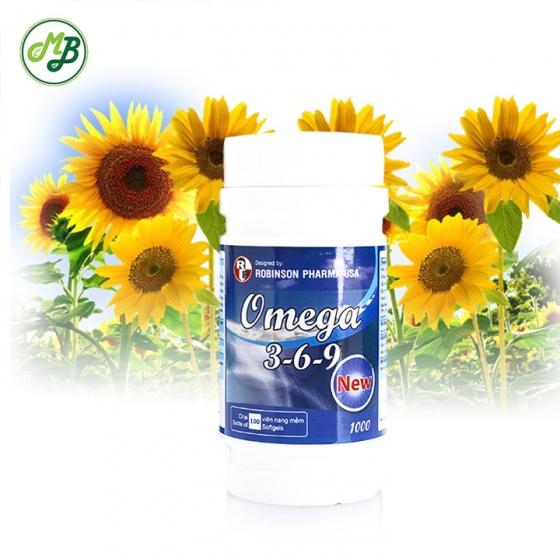 Viên uống giúp tăng cường thị lực , bổ xung vitamin E và OMEGA 369 - chai 100 viên - uome