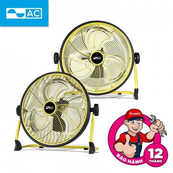 Quạt sạc AC ARF01D163 YL công suất 25W, cánh 16 inch, pin Lithium-ion 15000mAh, chống nước IPX4