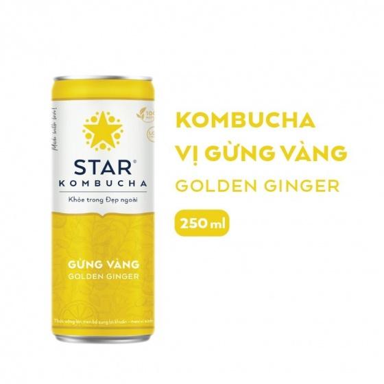 Thùng 6 lon thức uống lên men STAR KOMBUCHA mix vị