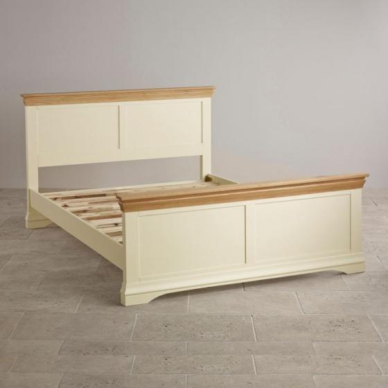 Giường đơn Canary  gỗ sồi 1m0