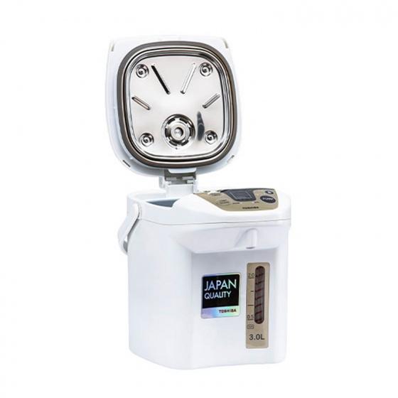 Bình thuỷ điện Toshiba thông minh đế xoay 3L  PLK-30FL(WT)VN - Hàng Chính Hãng