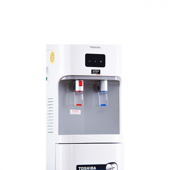 Cây nước nóng lạnh Toshiba có ngăn nước mát, màu đen RWF-W1664RTV(K) - Hàng chính hãng