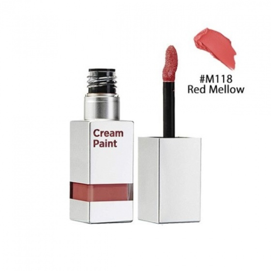 Son kem Moonshot Cream Paint LightfitM118 Red mellow 9g