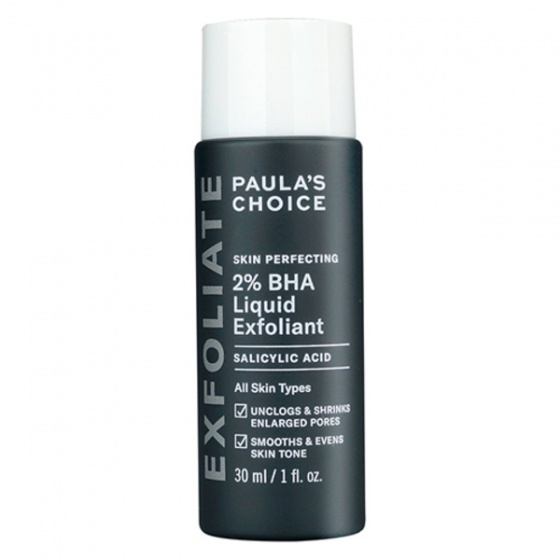 Dung dịch loại bỏ tế bào chết 2 percent BHA Paula-s Choice Skin Perfecting 2 percent BHA Liquid 30ml