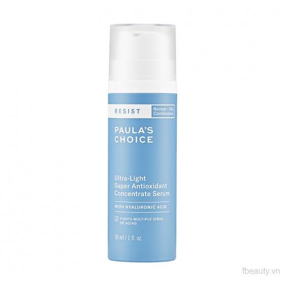Serum tái tạo  chống lão hóa -Paula-s Choice Resist Ultra-light Super Antioxidant Concentrate 30ml