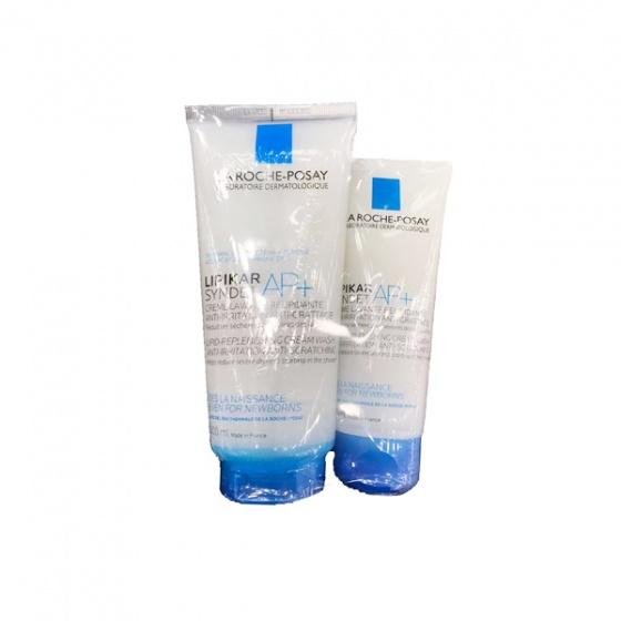Sữa rửa mặt tắm cho da khô, nhạy cảm, mẫn ngứa La Roche-Posay Lipikar Syndet AP+ Cream 200ml