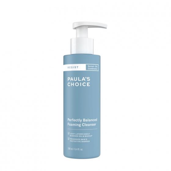 Sửa rửa mặt cân bằng da hoàn hảo Paula-s Choice RESIST Perfectly Balanced Foaming Cleanser 190ml