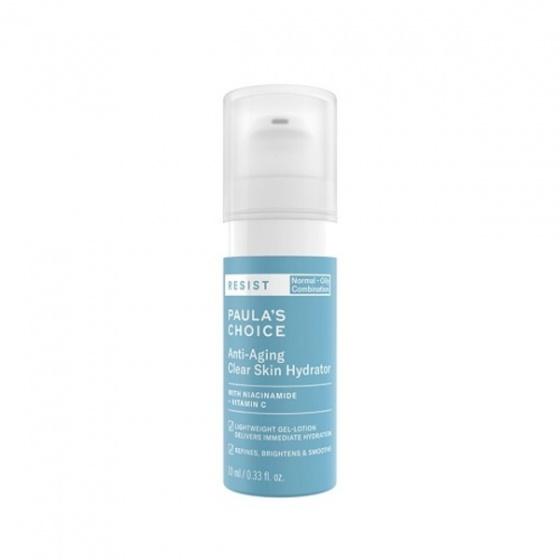 Kem dưỡng ẩm mềm mịn  Paula-s Choice Resit Anti-Aging Clear Skin Hydrator 10ml