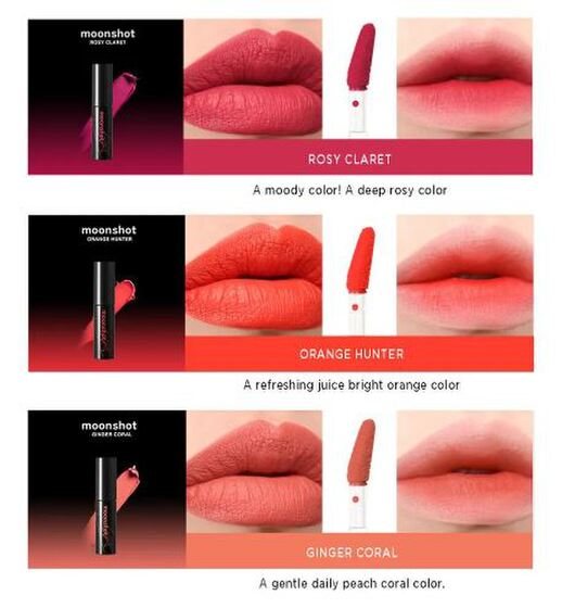 Son kem Moonshot Lisa-s Pick Special Edition Cream Paint Stainfit Lip Ginger Coral 3g