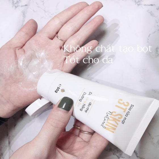 Sữa rửa mặt thiên nhiên 3T Skin sạch dịu nhẹ, da sáng mịn, dưỡng ẩm (50gr)