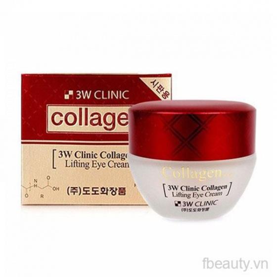 Kem dưỡng mắt 3W CLINIC Collagen Lifting Eye Cream 60ml