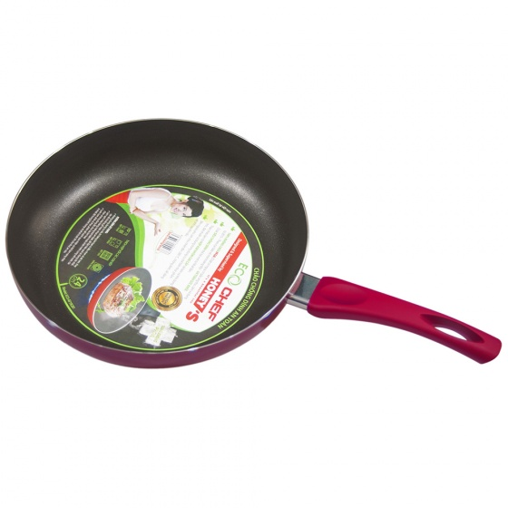 Chảo chống dính an toàn eco chef Honey ECO-AF1N241 24cm (Giao màu ngẫu nhiên)