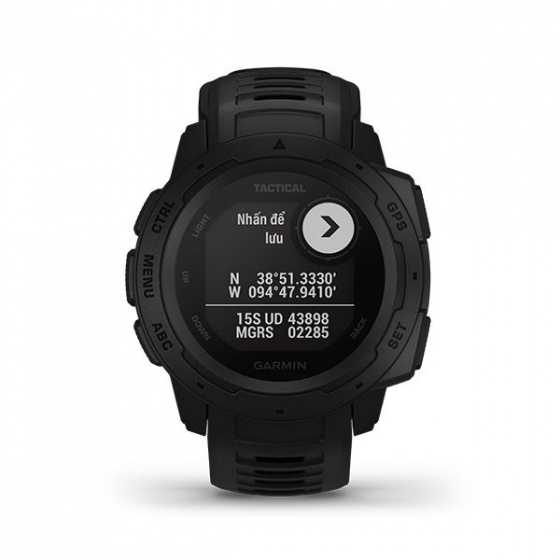 Đồng hồ Garmin Instinct Solar, Phiên bản Tactical, Đồng hồ GPS