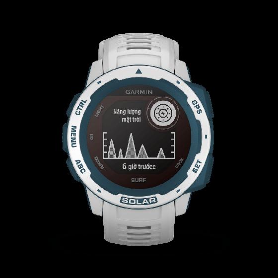 Đồng hồ Garmin Instinct Solar, Surf Edition