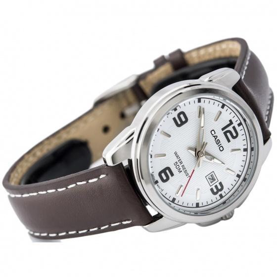 Đồng hồ nữ dây da Casio Standard chính hãng Anh Khuê LTP-1314L-7AVDF