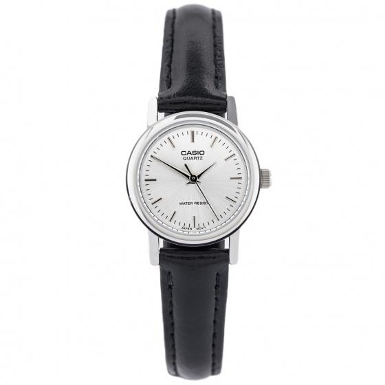 Đồng hồ nữ dây da Casio Standard chính hãng Anh Khuê LTP-1095E-7ADF