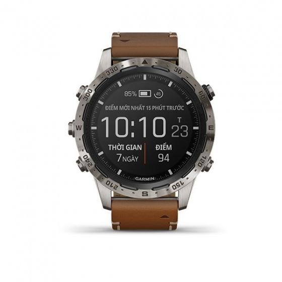 Đồng hồ Garmin MARQ, Adventurer, Thiết bị đeo thông minh GPS, SEA-010-02006-A4
