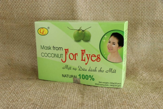 Mặt nạ dừa dành cho mắt hộp