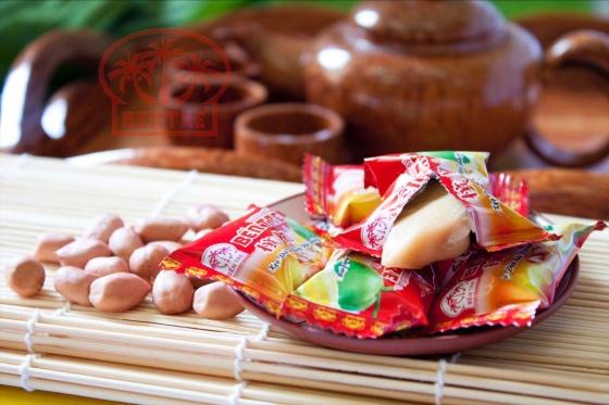 Kẹo dừa hiệu Bà Hai Tỏ Bến Tre - Năm Vị 540gr
