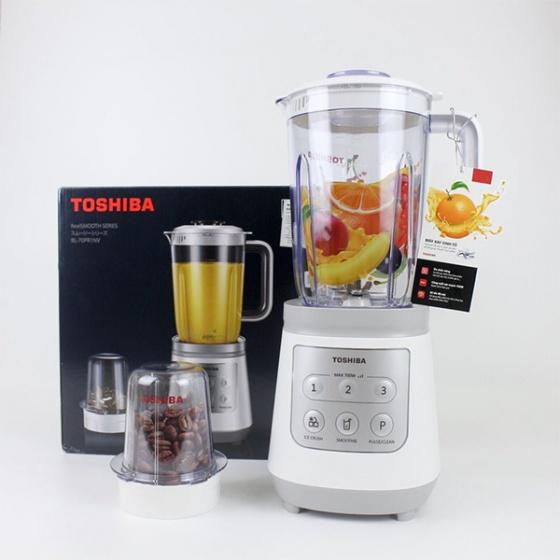 Máy xay sinh tố Toshiba 1,5L (tặng cối xay khô) BL-70PR1NV - Hàng Chính Hãng