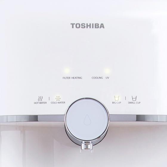 Máy lọc nước RO TOSHIBA 4 lõi lọc TWP-W1643SV(W) - Hàng chính hãng