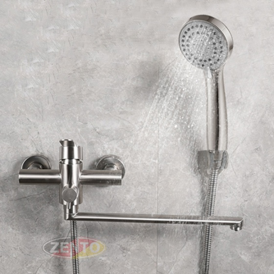 Bộ sen bồn tắm nằm inox304 SUS6165 (Bathtub Faucet)