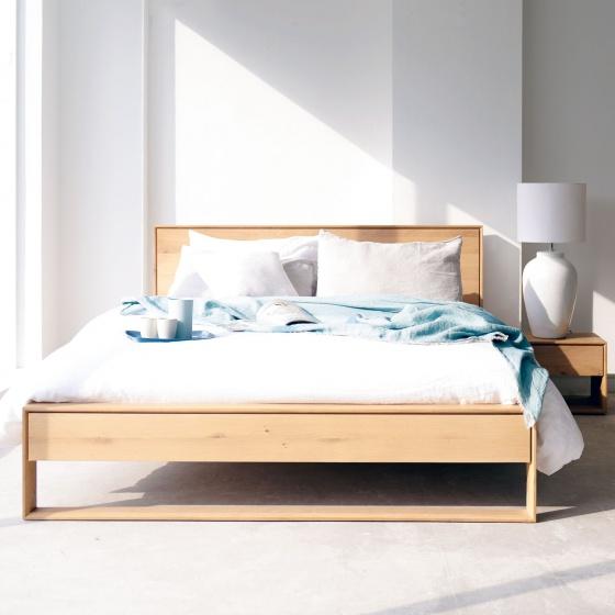 Giường đôi Nordic 2m0 cozino
