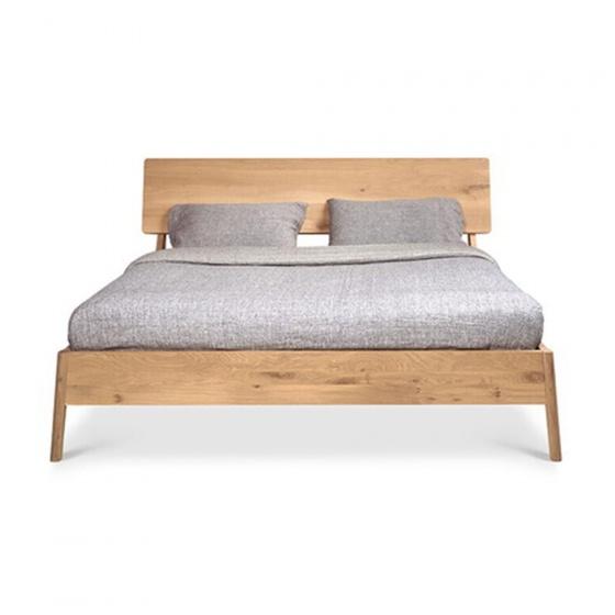 Giường đôi Shrub gỗ sồi 2m0
