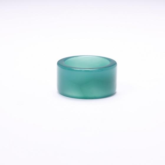 Nhẫn càng long đá mã não ni 18,19 - Ngọc Quý Gemstones