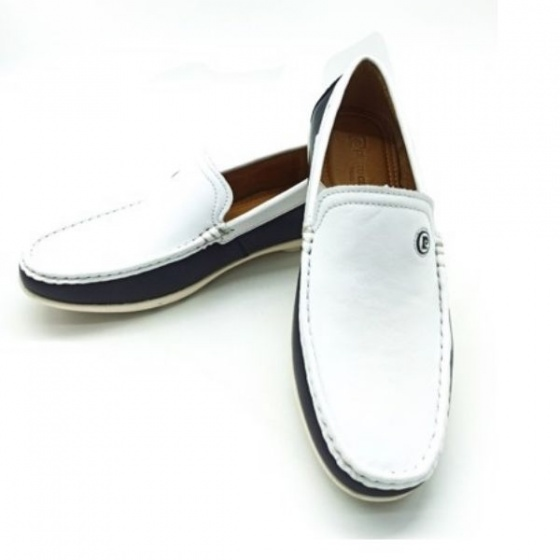 Giày lười da Pierre Cardin PCMFWLF729WHT màu trắng