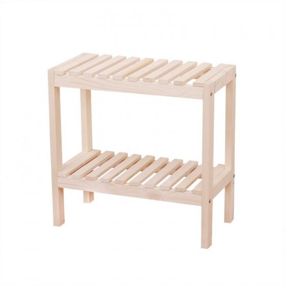 Kệ gỗ tab đầu giường 2 tầng tự lắp ráp Tâm House KT001