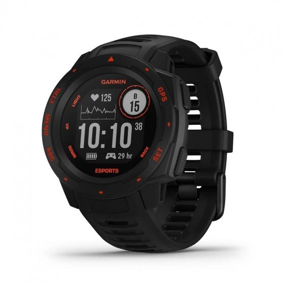 Đồng hồ Garmin Instinct, Esports Edition, Đồng hồ GPS, Đen nham thạch ,SEA-010-02064-78