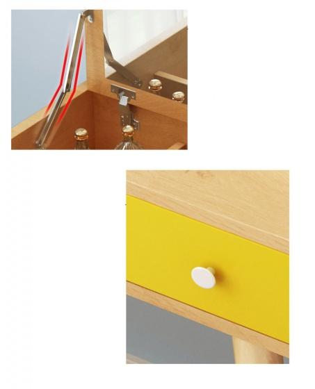 Bàn trang điểm thiết kế thông minh Tâm House MK08