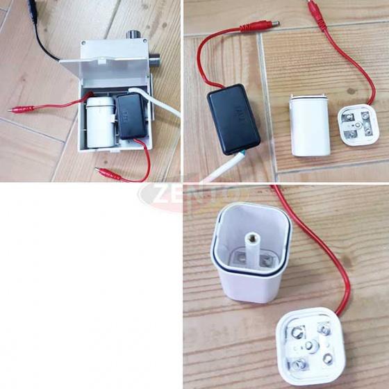 Vòi lavabo cảm ứng Automatic Faucet ZT-AF2803-Black