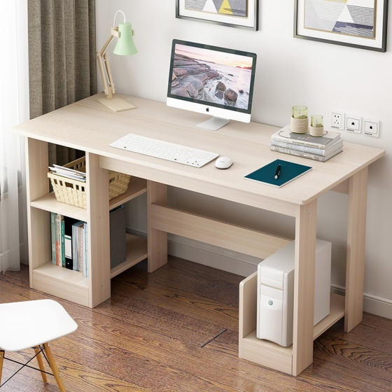 Bàn làm việc - bàn văn phòng - bàn liền kệ đa năng Tâm House - BXG069 (90x40cm)