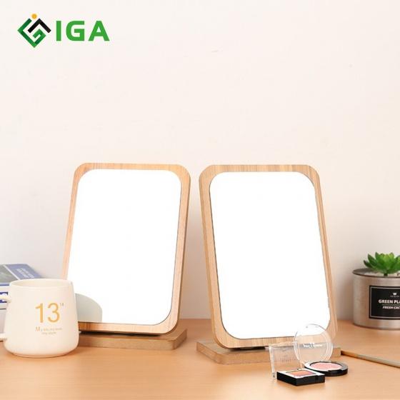 Gương soi trang điểm gỗ để bàn B  Mirror gb120.04