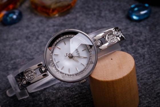 Đồng hồ nữ dây kim loại chính hãng Julius Hàn Quốc ja-624a (bạc)