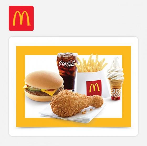 Combo McDonald's (Ecode 5-YR Combo)