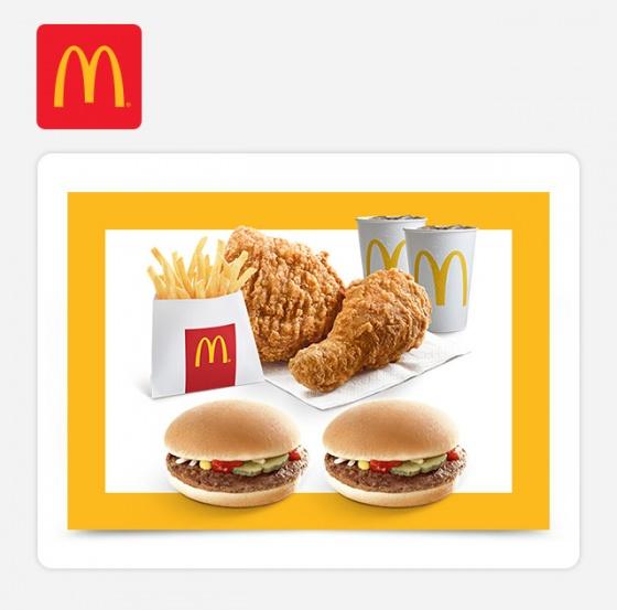 McDonald's - Combo 129k – 2 Hamburger