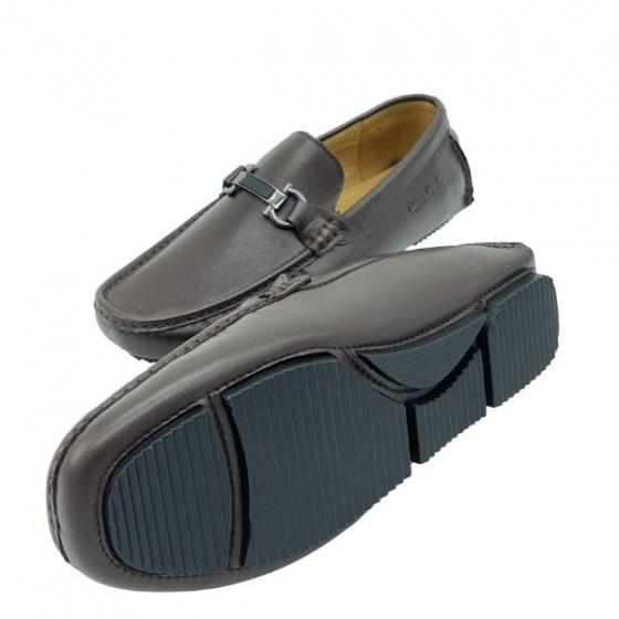 Giày lười nam Pierre Cardin PCMFWLF727BRW màu nâu