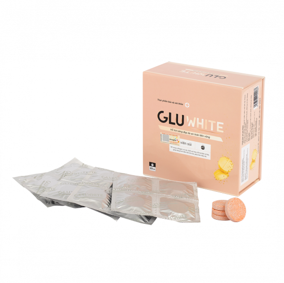 Viên sủi trắng da GLuWhite - hỗ trợ trắng da từ bên trong