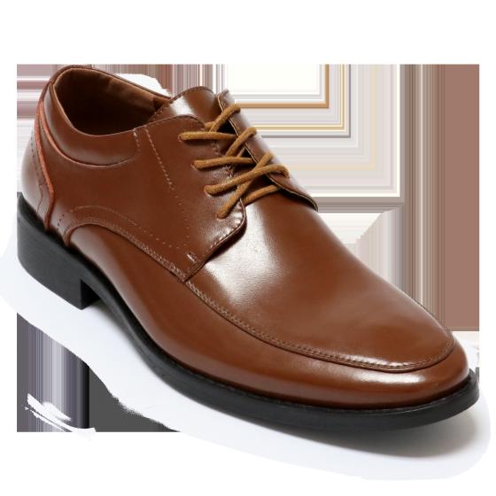 Giày công sở nam Bata da thật Nâu đậm - 824-4508