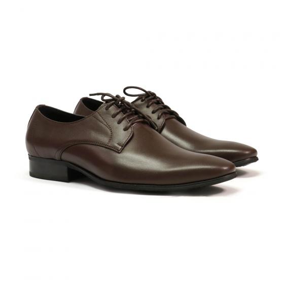 Giày công sở nam Bata Da thật Nâu caffe - 824-4527