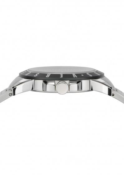 Đồng hồ Nam Versus VSPET0619 cao cấp chính hãng bảo hành toàn cầu - Máy Pin - Dây thép màu trắng