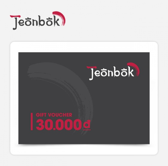 Phiếu quà tặng Jeonbok 30k