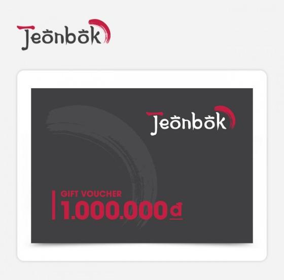 Phiếu quà tặng Jeonbok 1000k