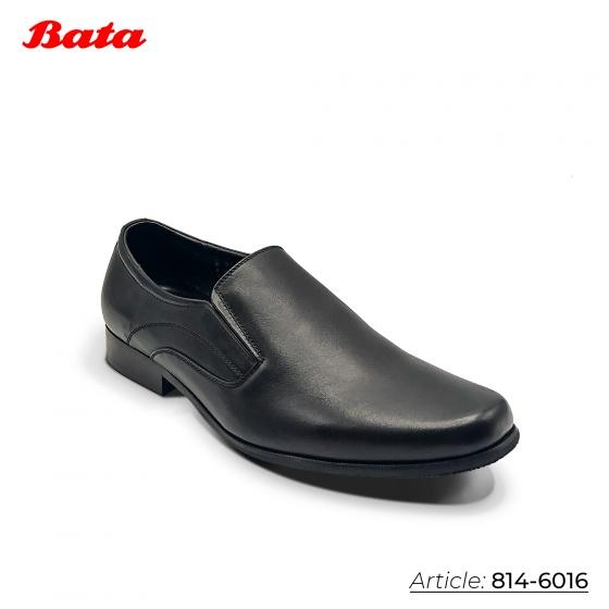 Giày công sở nam Thương hiệu Bata Màu Đen-814-6016