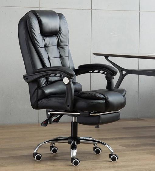 Ghế da giám đốc chân xoay cao cấp G333B Tâm House